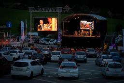 Débuts réussis pour le Drive-in Festival du Lied