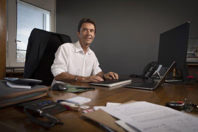 Le syndic Eric Küng, seul candidat élu au premier tour à Payerne