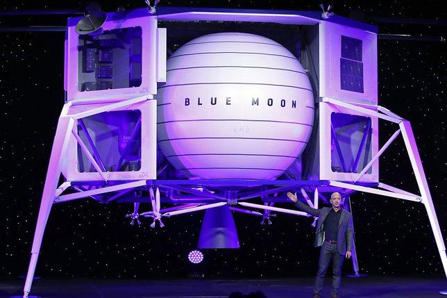Bezos offre une ristourne de 2 milliards pour son alunisseur