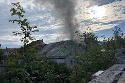 Un incendie se déclare dans un bâtiment déjà grêlé à Bulle