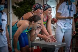 Championnat romand de natation à la Motta