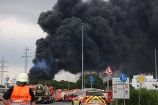 Explosion sur un site de traitement de déchets à Leverkussen: un mort
