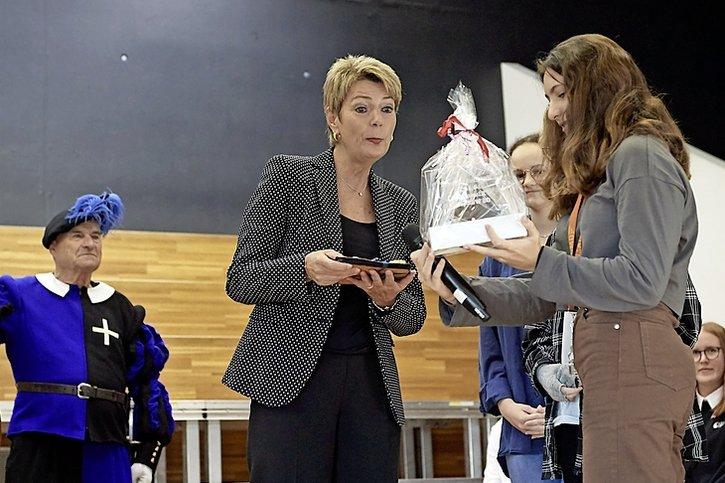 Karin Keller-Sutter en Singine
