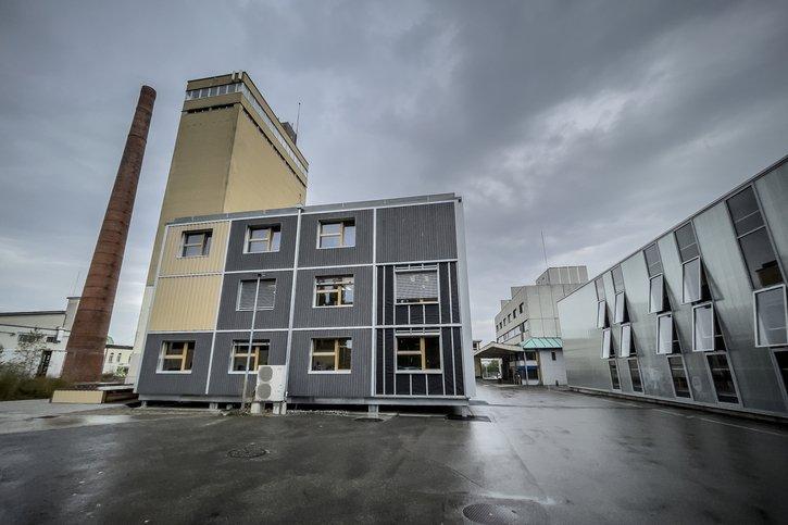 Un nouveau bâtiment inauguré sur le site de Bluefactory