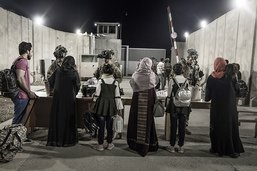Aéroport de Kaboul: menaces élevées à la veille de la date butoir