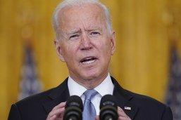 Pour sceller le retrait, Biden joue la carte du courage politique