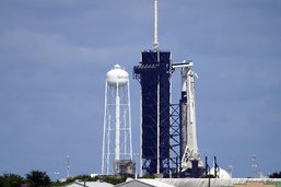 Les premiers touristes spatiaux de SpaceX en orbite