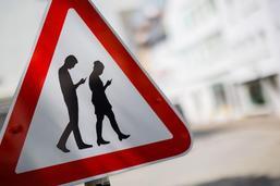 Attention aux smartphones dans le trafic routier